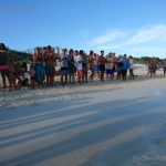 Gonzalo-Liberación de tortuguitas marinas. Centro de Rescate de Tortugas Marinas,Cayo Largo.©Octavio Avila López